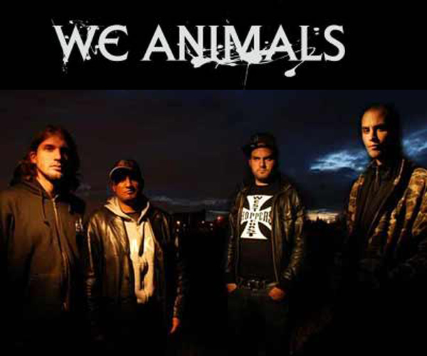 we animals punk hardcore metal